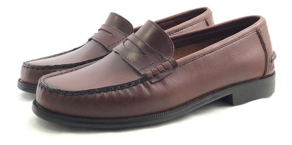 Deste 996 Mocasín Cuero Fondo Febo El Mercado De Zapatos!