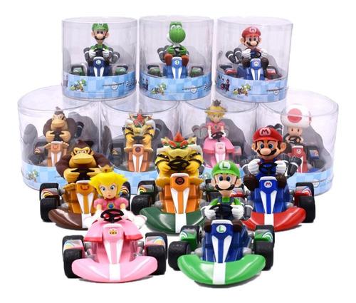 Carritos De Fricción De Mario Kart Mario Y Luigi