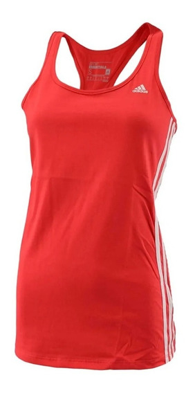 adidas Musculosa Running Mujer Ess Mid 3s