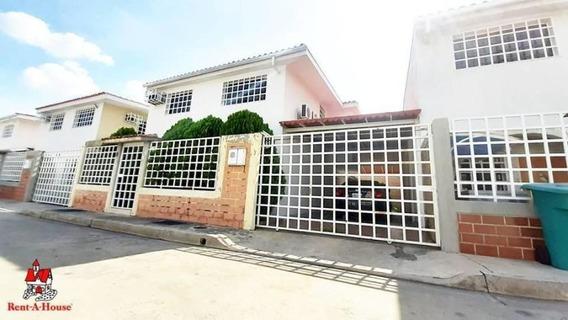 20-18295 Tonwhouse En Venta Urb Villas Del Sol Maracay/ Wjo