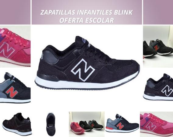 Zapatillas Infantiles Blink Oferta Escolar!!