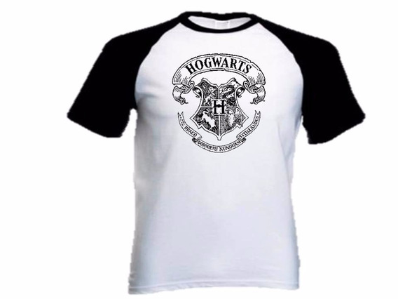 Camiseta Raglan Personalizada - Harry Potter