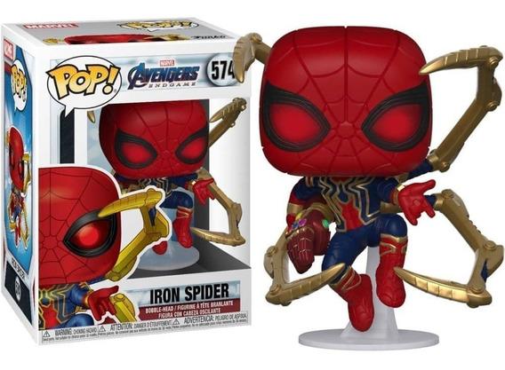 Funko Pop 574 Avengers Endgame Iron Spider-man Nano Originla