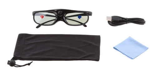 Imagen 1 de 9 de Gafas 3d Para Proyectores Dlp-link Obturador Activo Acer /