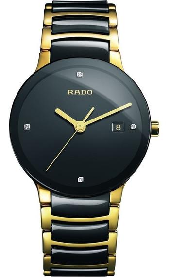 Reloj Rado Centrix Jubilé R30929712 Cerámica Negro-dorado