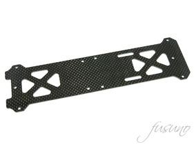 Carbon Fiber Bottom Frame Trex 550 Dfc 1.5 Mm