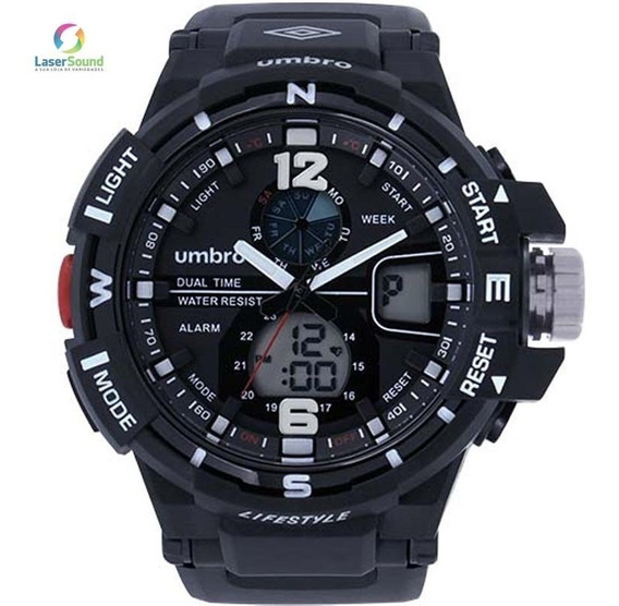 Relógio Umbro Masculino Umb-012-1 Com Garantia E Nf