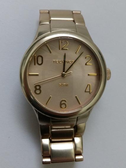 Relógio Feminino Technos Dourado Original