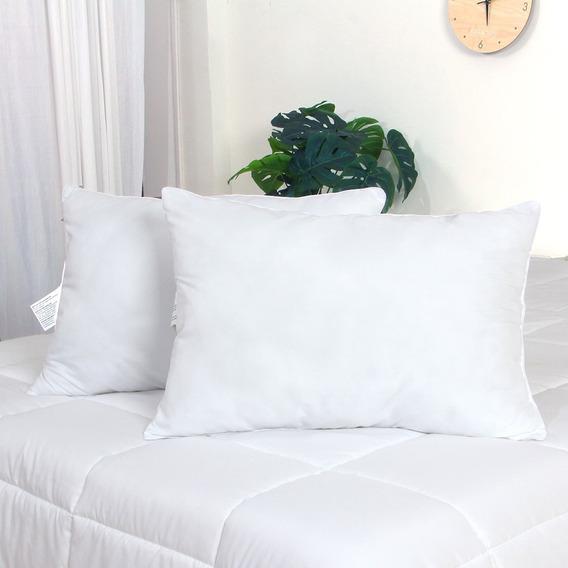 Kit Com 2 Travesseiros 50x70cm Mercado Livre Basics
