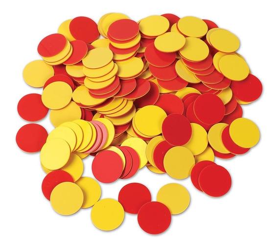 Learning Resources Fichas Rojas Y Amarillas Set De 200