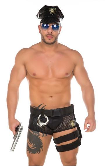 Fantasia Policial Masculina Sensual Erotica Pimenta Sexy