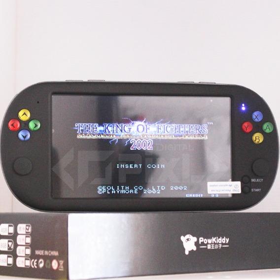 Consola Portatil X9, Con 1200 Juegos Retros, 8gb Ps1, Snes