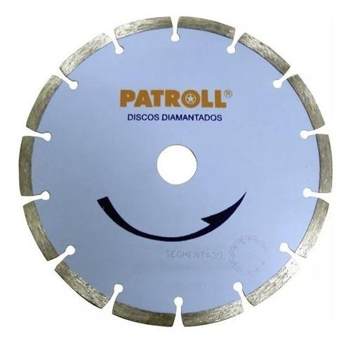 Disco Diamantado Segmentado Patroll 9 Aliafor 230 Mm