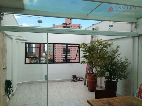Cobertura Com 2 Dormitórios À Venda, 118 M² Por R$ 350.000,00 - Nova Petrópolis - São Bernardo Do Campo/sp - Co0036