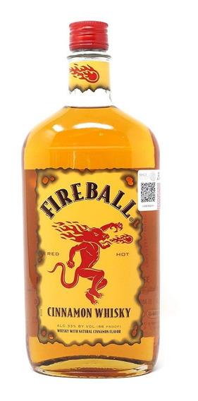 Whisky Cinnamon Fireball Canadiense Botella 750 Ml