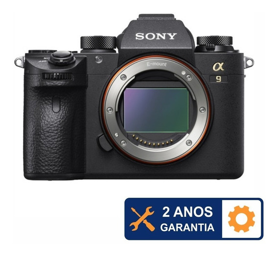 Câmera Sony Alpha A9 24.2mp 4k - 2 Anos De Garantia
