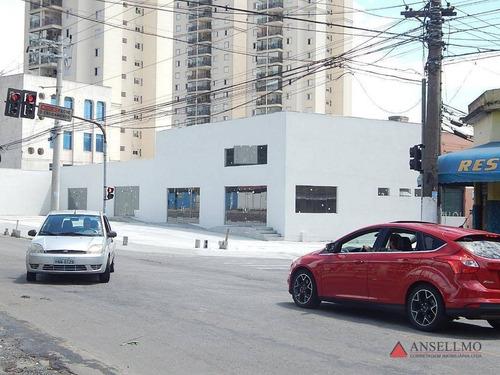 Imagem 1 de 7 de Salão Para Alugar, 114 M² Por R$ 4.750,00/mês - Rudge Ramos - São Bernardo Do Campo/sp - Sl0426