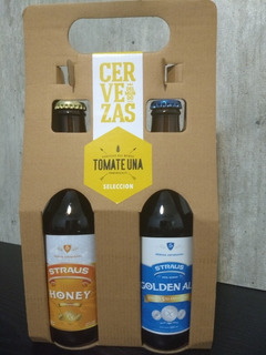 Cerveza Sin Tacc - Straus En Pack Duo Ideal Para Regalar