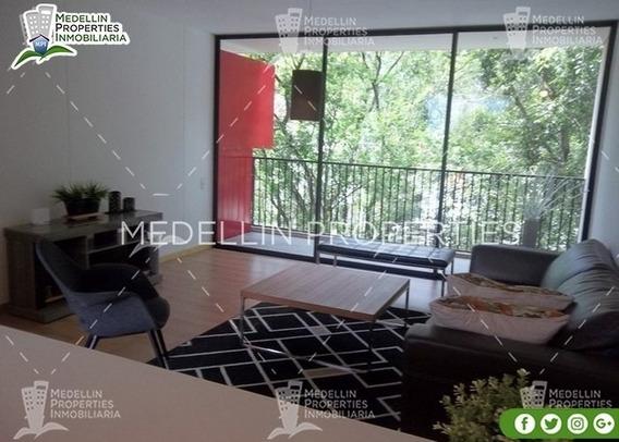 Alquiler De Apartamentos Amoblados En Medellín Cód: 4608