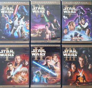 Colección Dvd Primeras Dos Trilogías Star Wars En Thx