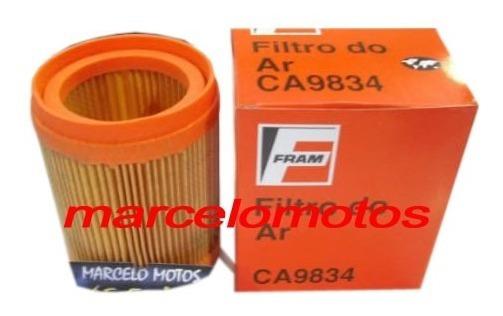 Filtro De Ar Para Titan 150 Modelo Original Fram