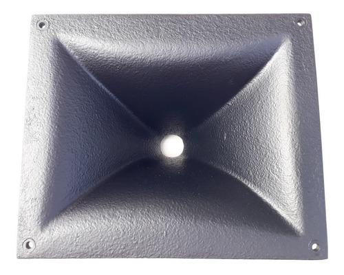 Corneta Retangular Aluminium P/driver Rosca