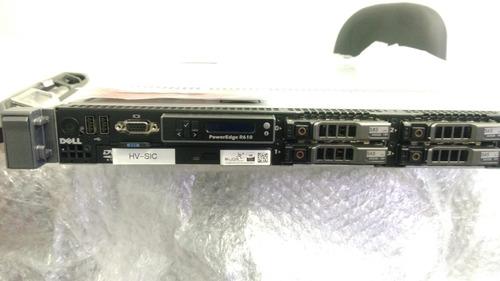 Servidor Dell R610 32gb C/ 2 Processadores E Fonte Redundant
