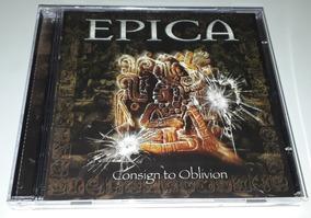 Epica - Consign To Oblivion (cd Lacrado)