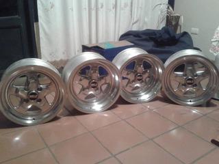 Rines Tipo Weld Racing Prostar 14, 15 ,16 ,17y18 Pulgadas