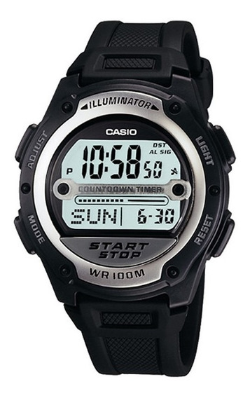 Relógio Casio Standard Masculino Digital W-756-1avdf