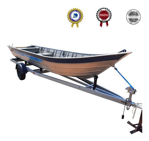 Carreta Reboque P/ Barco De Aluminio 6 Metros 500 Kg