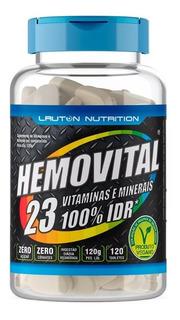 Hemovital Multivitamínico Polivitamínico A-z 120 Tabs Lauton Nutrition