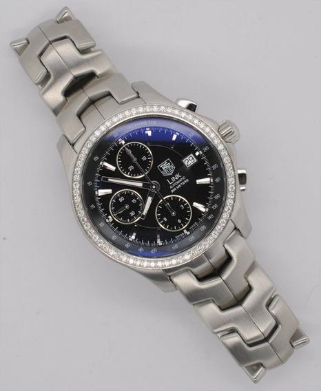 Relógio Tag Heuer Link Cal 16 Automático Diamantes