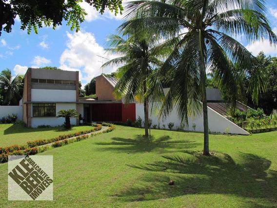 Encontro Das Águas Casa 4 Suítes, Gabinete, Piscina, Projeto Arquitetônico Diferenciado. Www.klebercavalcante.net 30289999/999554321 - Ca00098