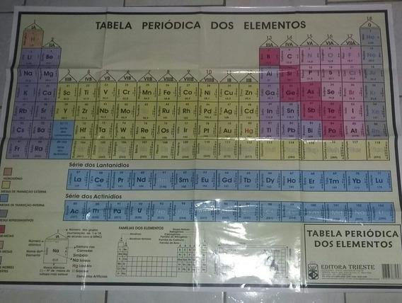 Tabela Periódica Gigante 82 X 112 Cm Editora Trieste