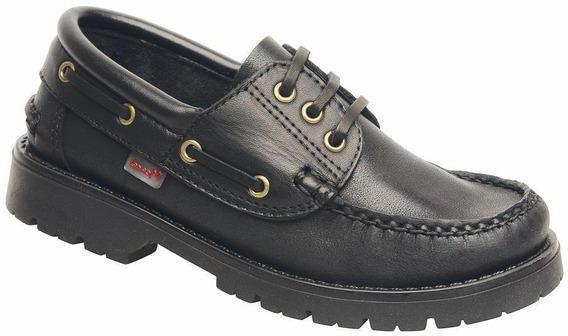 Zapato Mocasin Marcel Colegial 400 28 Al 40 100%cuero Voce