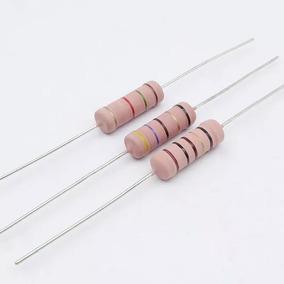 Resistor De Fio 470r 5w 5% - Caixa Com 500 Peças