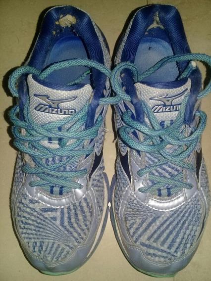 Zapatillas Mizuno Mujer Wave Enigma 6 Celeste