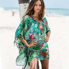 Mini Vestido Saída De Praia De Renda Sol À Prova Maiô