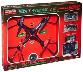 Swift Stream Indooroutdoor Z10 Camera Drone Black
