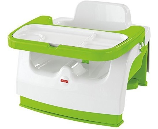 Asiento Elevador Porta¡til Fisher-price Grow-with-me, Verd