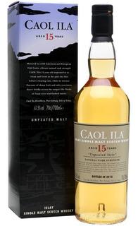 Whisky Caol Ila 15 Años Islay Unpeated Style Single Malt