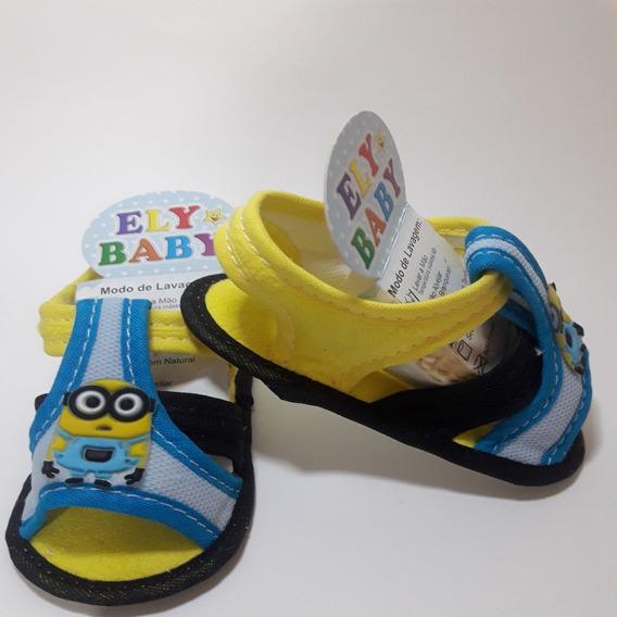 Sandalia Bebe Sapato Infantil Menino Direto Da Fabrica Rn