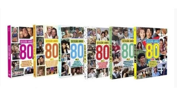 Coleção Sessão Anos 80 Volumes 1 Ao 6 Box Original E Lacrado