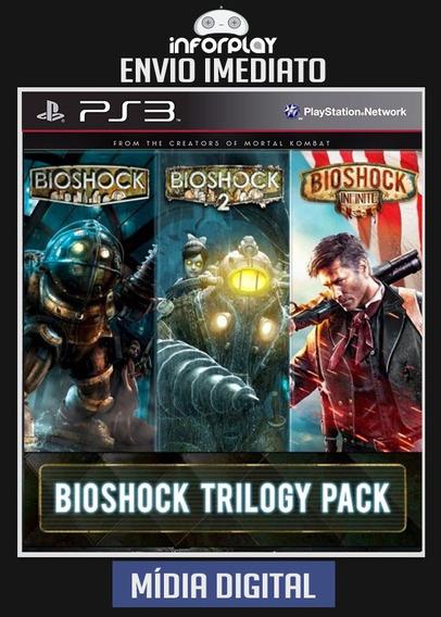Bioshock Trilogia 1 + 2 Infinite Ps3 Psn Envio Imediato