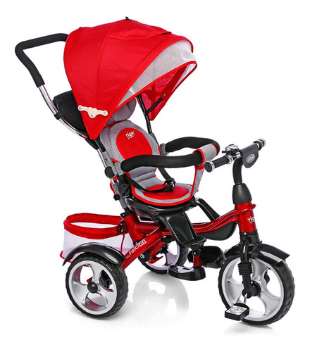 Triciclo Felcraft Little Tiger Spin rojo