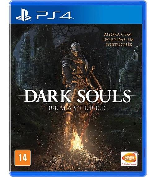 Ps4 Dark Souls Remastered Mídia Física Lacrado Em Português
