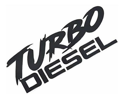 Embroom Turbo Diesel Calcomania Calcomania Pelar Y Pegar Peg