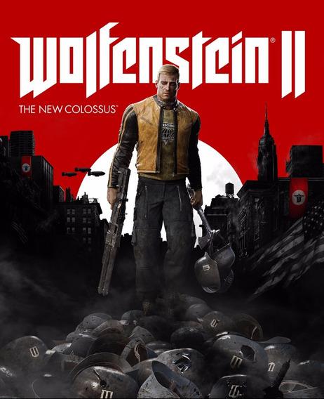 Wolfenstein Ii The New Colossus ( Mídia Física ) Pc - Pt-br