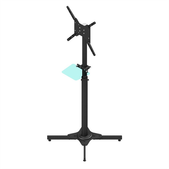 Suporte Pedestal Para Tv 27 A 55 Pol Avatron Tvc-01s Preto